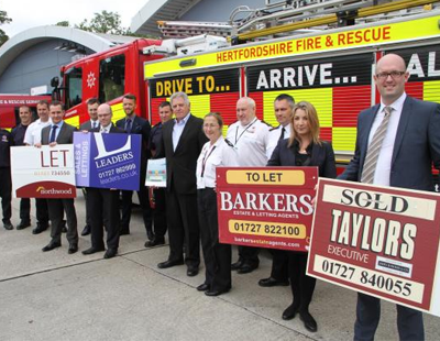 Agents team up with fire service to launch smoke alarm initiative