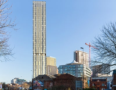 Going Up: new Build To Rent tower hits 44 storeys