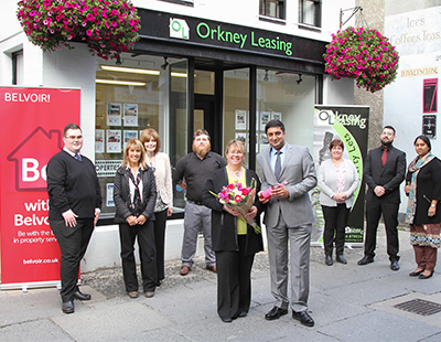 Franchise giant takes first steps on Orkney Islands