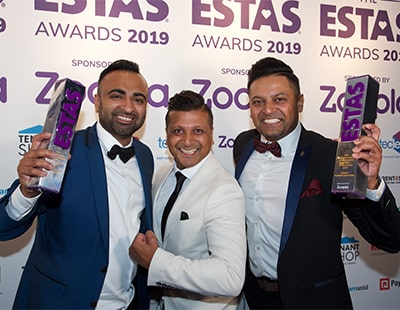 UK's best letting agents and suppliers revealed at ESTAS Awards 2019