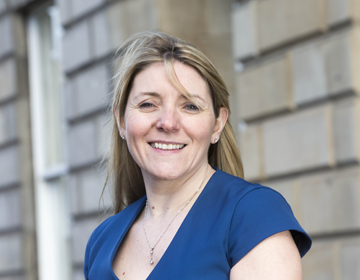 Jen Paice, CEO of SafeDeposits Scotland