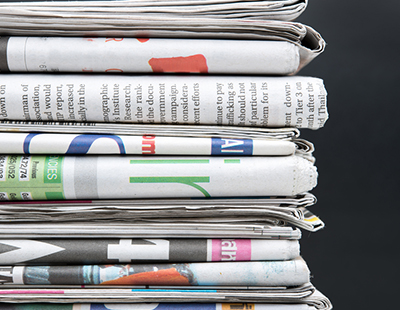 Hold the front page? Don't bother – no one reads it any more