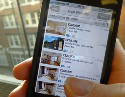 Property portal launches app with 'defined search area' facility