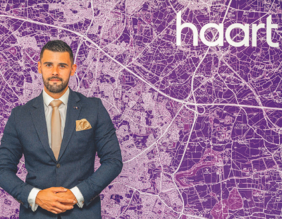 Haart's first home-based agent returns after selling cars
