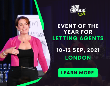 THE Annual Conference for Letting Agents that want to GROW their businesses Agent Rainmaker LIVE 2021