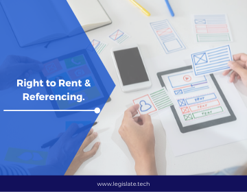 Right to Rent and Referencing